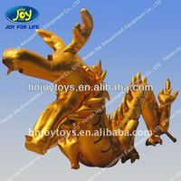 Attractive advertising inflatable dragon for event