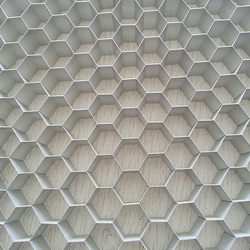 Raw materials used for construction, honeycomb cardboard sheet, wall decorative panel