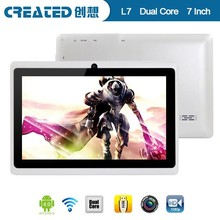 Oem android 7 inch tablet for kids wifi Q88 1.2GHz capacitive 4GB memory download chinese android tablet games