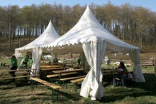 5x5m china marquee tents family size used marquee tent