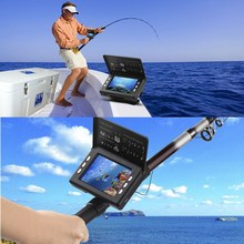 Durable HD Portable Sonar Fish Finder Camera Fishing Equipment with 9M Long Cable