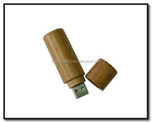 Customized top sell wooden usb swivel