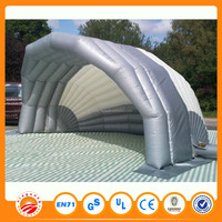 Inflatable Bubble Tent / Inflatable Tube Trailer Tent Car Cover