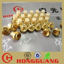 brass threaded fitting female cap (Factory direct sales)