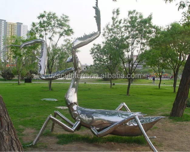 304 miroir en acier inoxydable jardin en m tal insectes sculpture arts collection id de. Black Bedroom Furniture Sets. Home Design Ideas