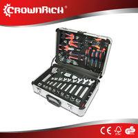 128pcs Car Repair Tool Kit in Aluminum Case