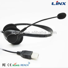 Custom design cheap overhead headphone