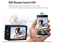 2015 Action Camera Anti-Shock Waterproof Wifi Digital Camcorder 1080P Full HD 170 Degree Lens Outdoor Sport Camera
