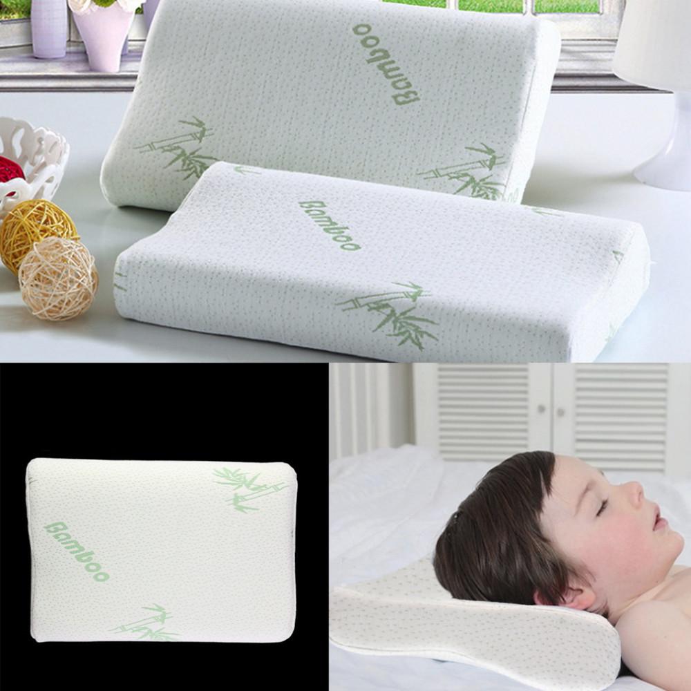 wholesale children adjustable bamboo pillow slow rebound mem