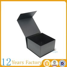 Folding cardboard packaging magnetic box gift