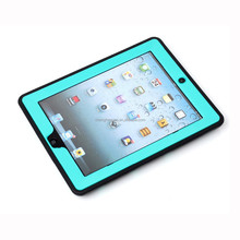 wholesale hybrid rubber horizontal display stand phone case for ipad 4