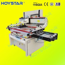 automatic unloading screen printing machine for card board