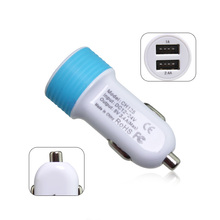 Universal 3.4a Two port car Charger for Moble Phones