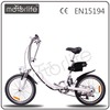 "MOTORLIFE/OEM EN15194 new style 20"" 250w 24v mini electric folding bike"