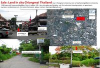 Sale Land in city Chiangmai Thailand