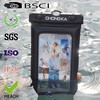 Fashion mobile phone pvc waterproof pouch for iphone 5