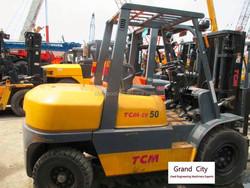 Used Japan original TCM forklift FD50Z8 for sale, excellent condition