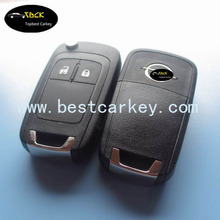 Topbest key blanks wholesale with 433/315 mhz ID46chip for Opel Astra / Corsa key