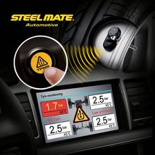 2015 SteelmateTP-05E A/V Monitor DIY TPMS led sensor, wireless tire pressure monitoring system,car lock picking tools