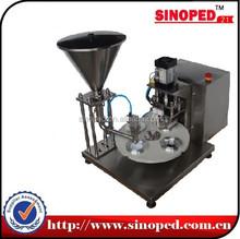 Aluminium Coffee Capsule in Filling and Sealing Machine