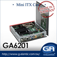 GA6201 Mini ITX Case for DN2800MT i7 processor pc desktop