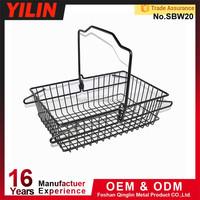 trade assurance cosmetic shop metal shopping basket
