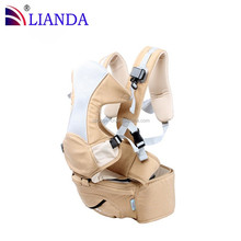 Extreme strength buckle and inner support baby wrap carrier,Maintain a well balanced posture baby sling,Customized hip seat