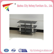 Wholesale led tv stand glass tv table