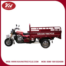 Powerful made in China red 150cc air-cooled bajaj 3 wheel motorcycle