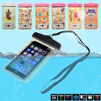 2015 New Hot Selling Universal Waterproof Bag for Mobile Phones 6 Inch or Smaller