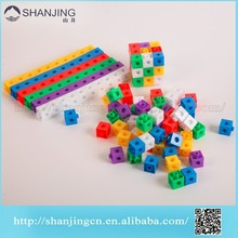 Puzzle Games of Link Cubes