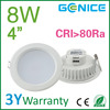 recessed 4inch round led downlight,4 inch recessed downlight led 8w