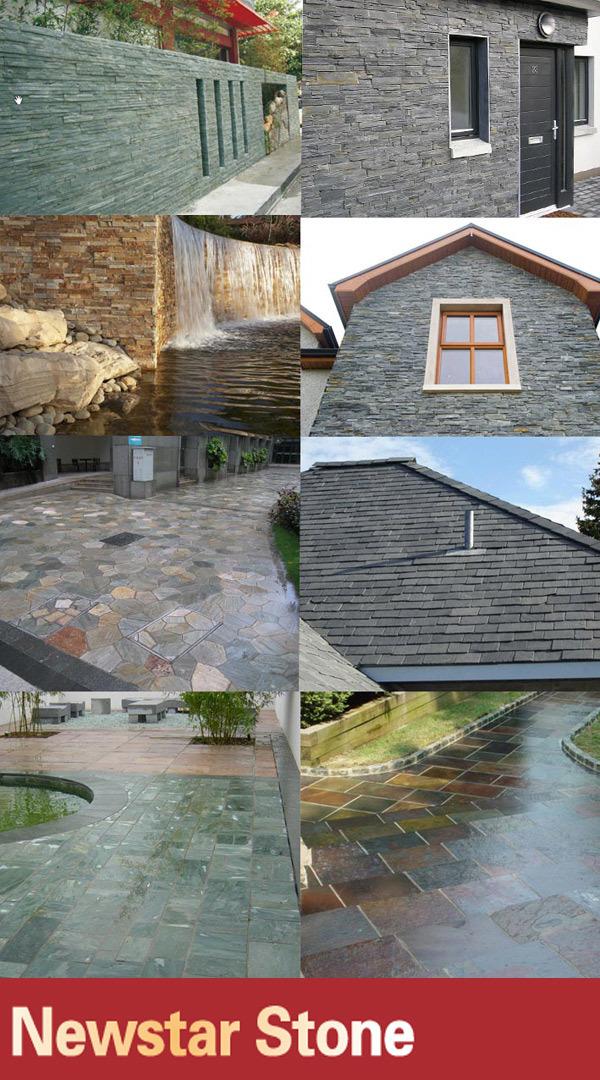 Chinese European Standard Split Fish Scale Slate Roof Tiles - Buy ...