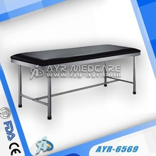 Stainless steel Examination medical bed