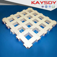 appealing durable fireproof aluminum grid ceiling
