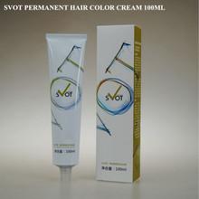 Cream Form and Permanent,Ammonia Free Hair Color Dye Type ammonia free white hair dye