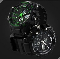 China manufacturer&supplier&exporter fashion sports men's digital analog watches