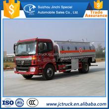Fabricante chino 15 metro cúbico forland aceite camión proveedor
