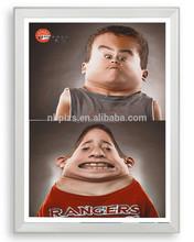 aluminum photo frames 32mm square corner snap frame 80*120 Snap Frame Silver