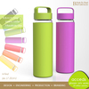OEM/ODM Factory Made Colorful Silicon Traveling Bottle Sets