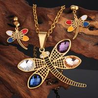 fashion design kalen stainless steel jewerly bisuteria gold jewellery