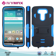 IVYMAX hybrid phone protector covers for LG G3 high quality celular