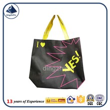 OEM welcome 3000pcs MOQ Bopp laminated pp woven shopping bag