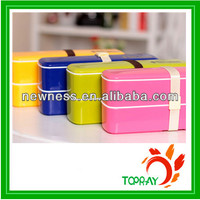 Microwave plastic food container with logo