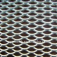 flattened expanded metal mesh