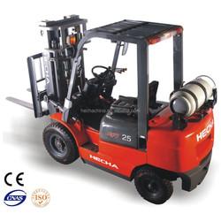 2.5t LPG/Gasoline forklift truck/Nissan forklift price
