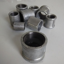 Easy to connect galvanized malleable iron pipe fitting