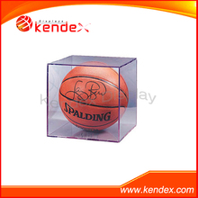 clear acrylic display cube box for basketball