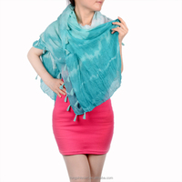 ladies simple fashion dress HD312 650-1 shawl and scarves supplier alibaba china
