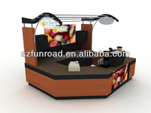 Decorative coffee shop kiosk commercial coffee cart /coffee vending cart from china factory